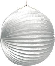 Lampion bílý 25 cm