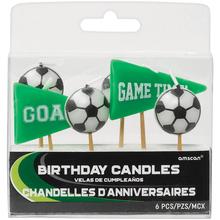 Fotbal svíčky 6 ks