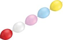 Balónky řetězové LED barevné - blikající mix barev 5ks
