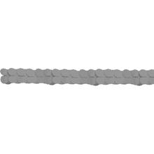 Girlanda papírová stříbrná 365 cm