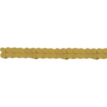 Girlanda papírová zlatá 365 cm