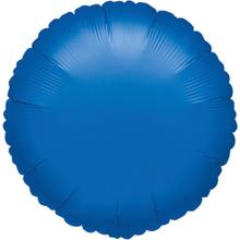 Balónek kulatý Blue Metallic 42cm