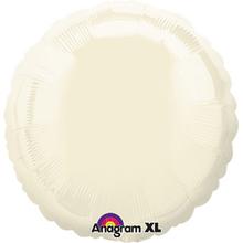 Balónek kruh Ivory Iridescent Pearl 43cm