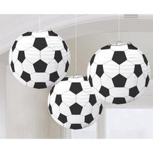Lampion fotbal 24cm 3ks