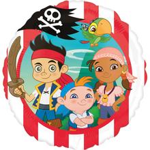 Jake a piráti ze Země Nezemě balónek 43 cm