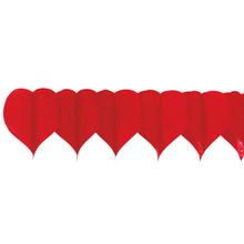 Srdíčka závěsná girlanda 18 cm x 400 cm