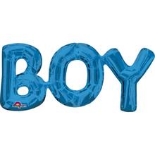 BOY foliový balónek 50cm x 22cm
