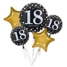 18. narozeniny balónky sada 5 ks