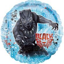 Black Panther balónek jumbo 71cm x 71cm