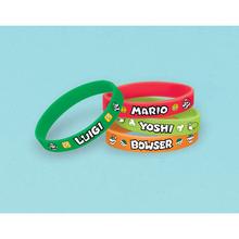 Super Mario náramky 4 ks