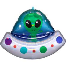 Mimozemšťan balónek 71 cm x 53 cm