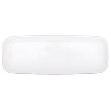 Podnos bílý plastový 16,5 cm x 44,4 cm