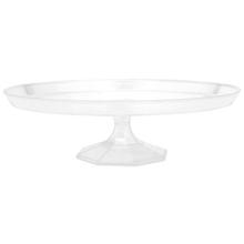 Podnos pod dort průhledný plastový 29,8 cm