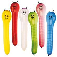 Balonky obří housenky 60 cm 6 ks