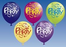 Balonek party 6 ks