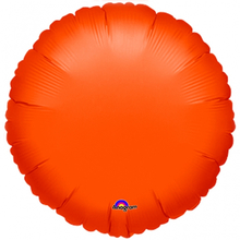 Balónek kruh Orange Metallic 43cm