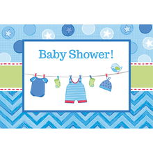 Baby Shower pozvánky 8 ks
