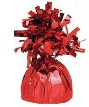 Závaží na balonky s heliem červené