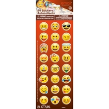 Emoji samolepky 24ks