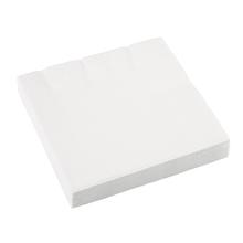Ubrousky bílé 20 ks 33 cm x 33 cm 2-vrstvé
