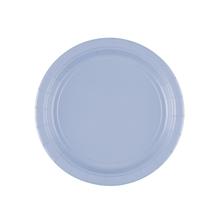 Talíře papírové Pastel Blue 8ks 18cm
