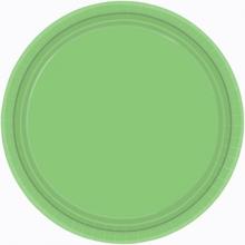 Talíře papírové Kiwi Green 8ks 18cm