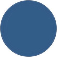 Talíře modré 8ks 18cm