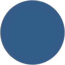 Talíře modré 8ks 23cm