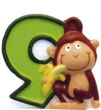 Safari svíčka číslo 9