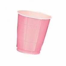 Kelímky Pink 10ks 355ml plastové