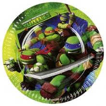 Želvy Ninja talíře 8ks 23cm