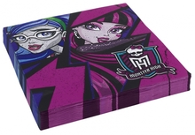 Monster High 2 ubrousky 20ks 33cm x 33cm