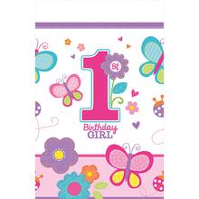 Ubrus 1. narozeniny holka