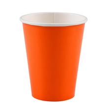 Kelímky papírové Orange 8ks 266ml