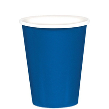 Kelímky papírové Royal Blue 8ks 266ml