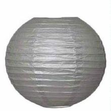 Lampion stříbrný 25cm