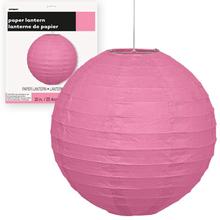 Lampion růžový 25cm