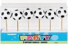 Fotbal svíčky 6ks