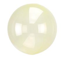 Průhledný balón žlutý 45 cm