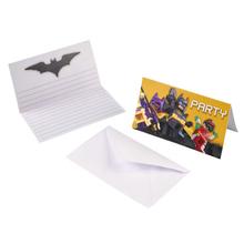 Lego Batman pozvánky na party 8ks