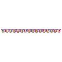 Shimmer & Shine nápis šťastné narozeniny 200 cm x 15 cm