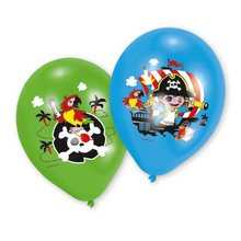 Piráti balónky 6 ks 27,5 cm