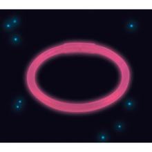 Svítíci náramek růžový 20 cm