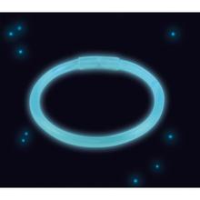 Svítíci náramek modrý 20 cm