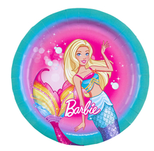 Barbie talíře 8 ks, 18 cm