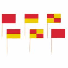 Fotbal vlaječky napichovátka 24 ks