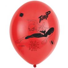 Spiderman balónky 6 ks 27,5 cm