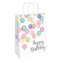 Taška papírová k narozeninám 2 ks 13 cm x 21 cm