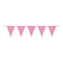 Vlajka růžová 10 m