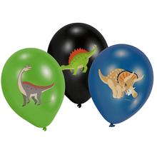 Dinosaurus balónky 6 ks 28 cm